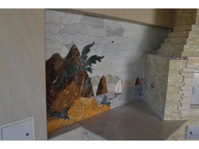 Мраморная мозаика как вид искусства