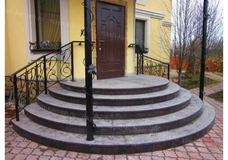 Лестницы из натуральных камней