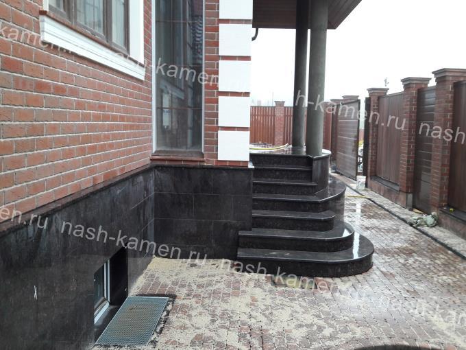 Наружная лестница термообработанная