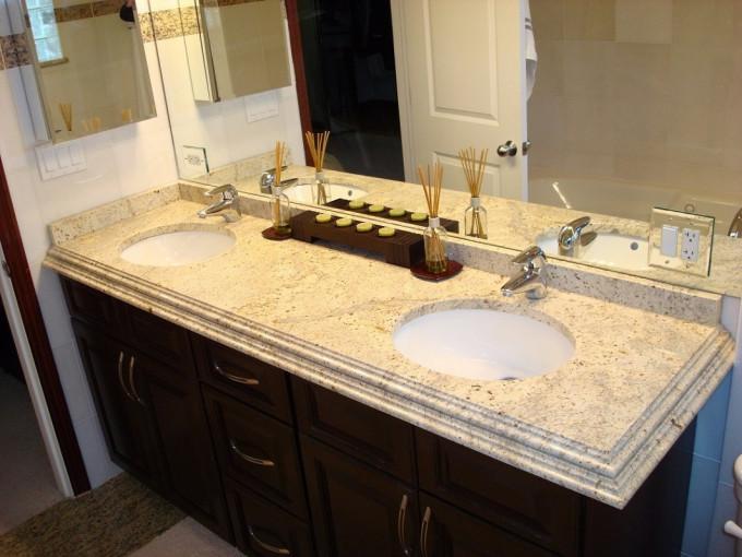 Столешница для ванной Colonial Cream